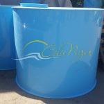 Цилиндрическая емкость 5 м3 000 литров