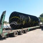 Накопительная емкость 60 м3 цилиндрическая