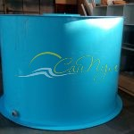 Цилиндрическая емкость 6 м3 цилиндрическая