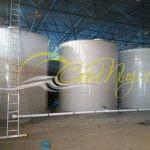 Емкость вертикальная 7 м3 000 литров