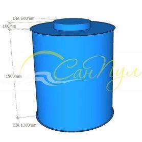 емкость вертикальная цилиндрическая