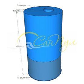 Цилиндрическая емкость 20 кубов