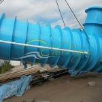 Подземная емкость для канализации 60 м3 с доставкой