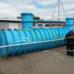 Подземная емкость для канализации 60 м3 000 литров