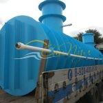 Подземная емкость для канализации 25 м3 цилиндрическая